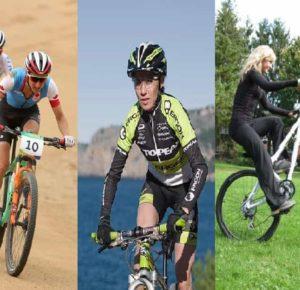 Female Mountain Bikers