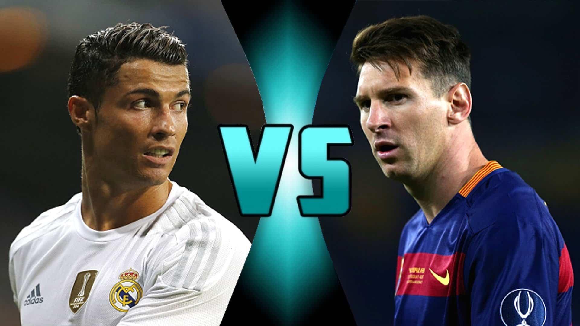 Lionel Messi vs Cristiano Ronaldo La Liga Stats